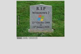 10 Meme perpisahan Windows 7 ini bikin senyum tapi sedih