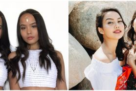 Pesona 6 seleb kembar cantik Indonesia ini curi perhatian
