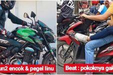 10 Meme lucu motor matic vs motor gede ini bikin ketawa