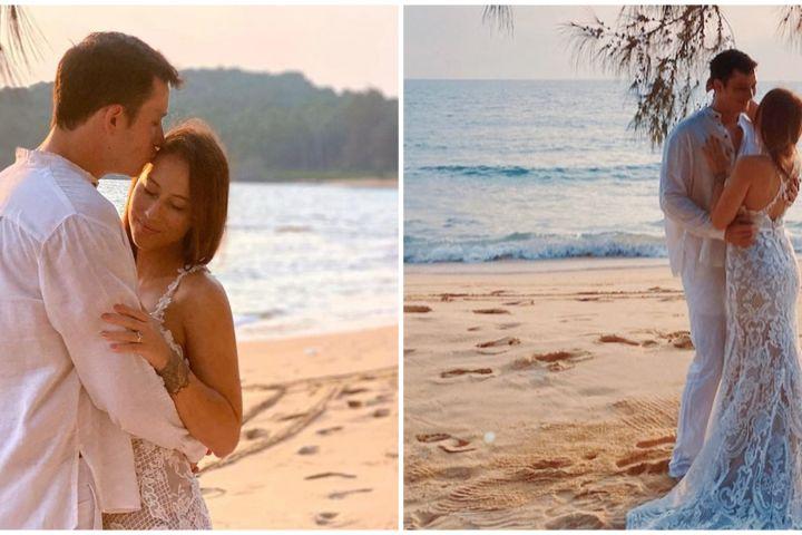 8 Momen Mike Lewis dan kekasih liburan sekaligus prewedding