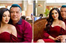 6 Potret Ashanty hadiri pernikahan fansnya, bikin heboh