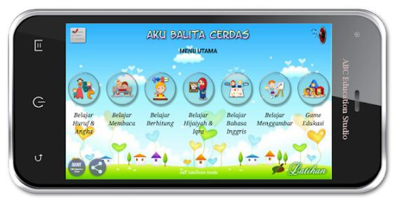 Aplikasi Android edukasi anak freepik.com