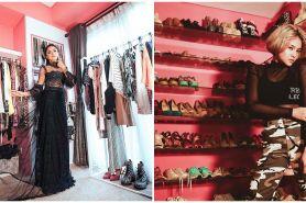 6 Potret walk in closet Marshanda, koleksinya bikin melongo