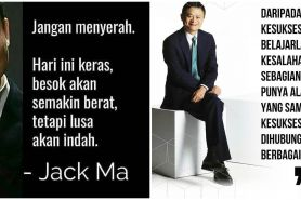 40 Kata-kata motivasi bijak Jack Ma, penuh makna & inspiratif