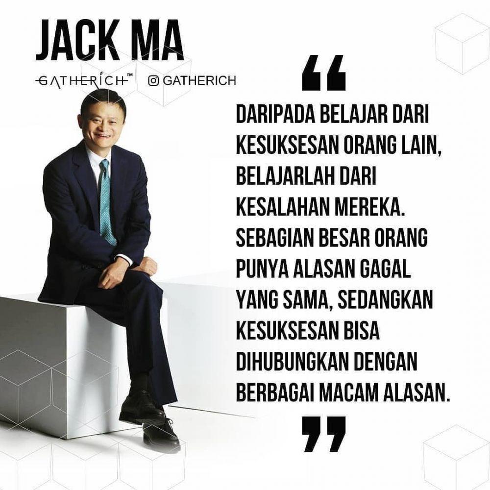 40 Kata Kata Motivasi Bijak Jack Ma Penuh Makna Inspir