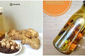 10 Resep infused water rempah, enak, sehat, dan mudah dibuat