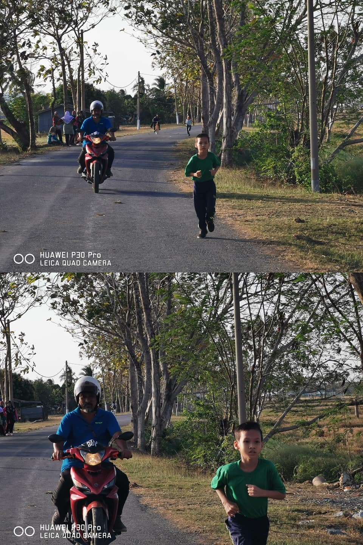 ayah dampingi anaknya lari haru © Facebook/fazly.hafiz