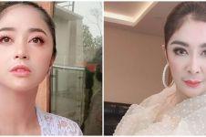 5 Foto Dewi Perssik berambut pirang, disebut mirip Uut Permatasari