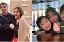 9 Momen Rieta Amilia liburan di London, Rafathar bikin salfok
