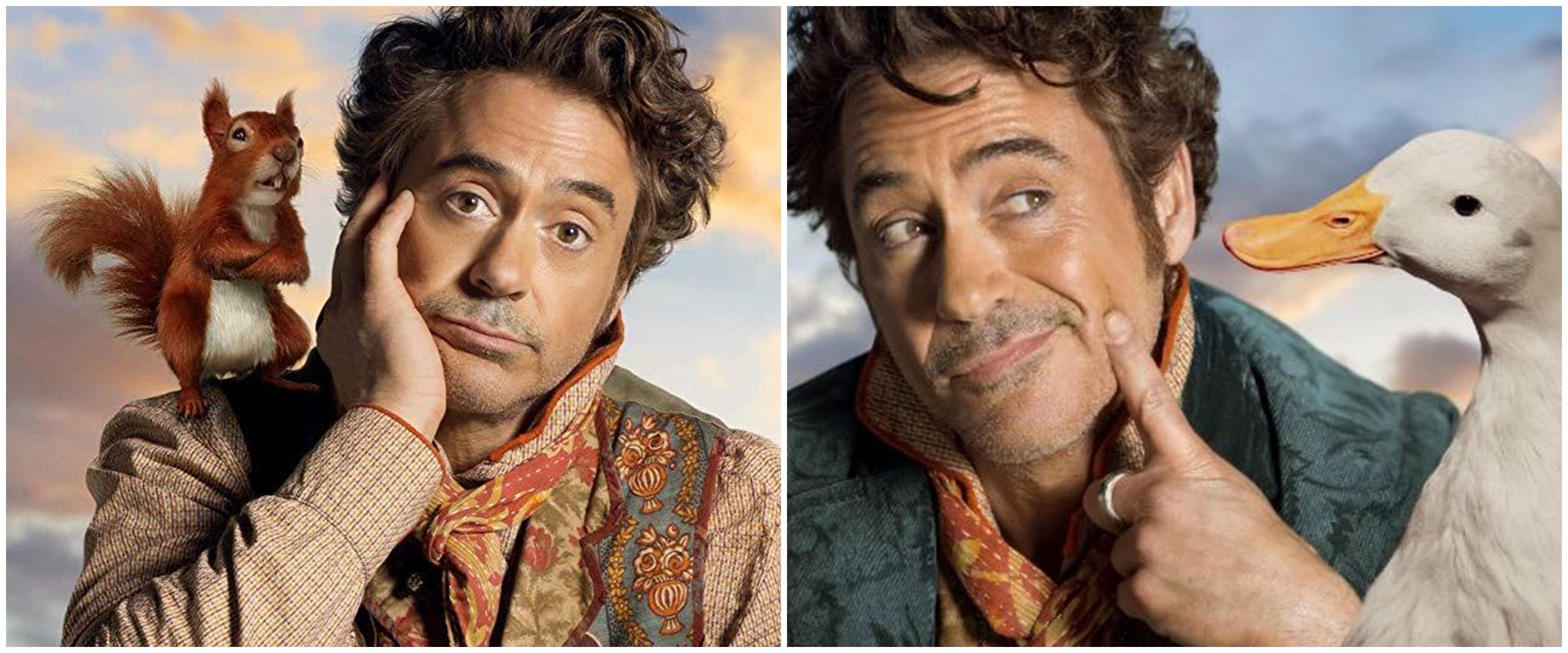 6 Fakta film Dolittle, ajang reuni Robert Downey Jr & Tom Holland