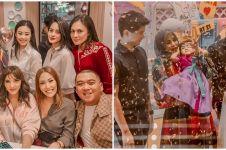 10 Momen seru ulang tahun ke-5 anak Olla Ramlan, bertema BTS