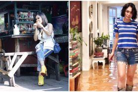 10 Bukti Yuni Shara stylish di sembarang tempat, dipuji bak ABG