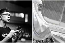 4 Momen haru Aming mengenang kepergian Ade Irawan