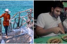 10 Momen liburan Irish Bella di Makassar, tiba di Titik Nol