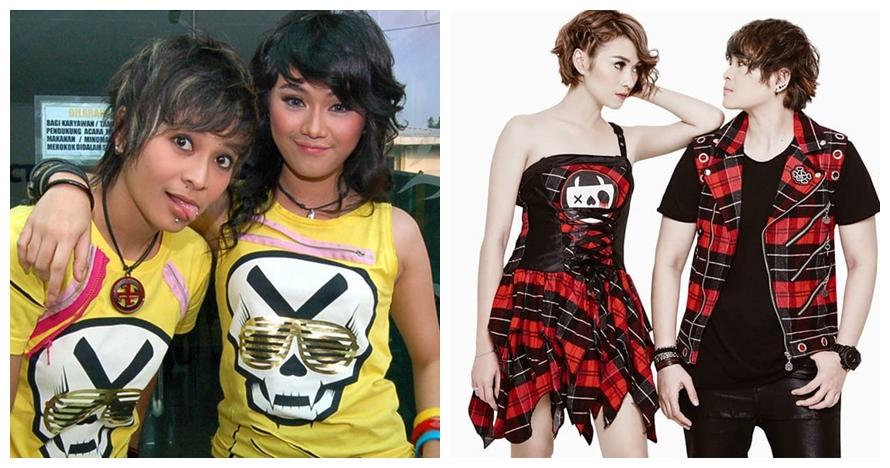 Penampilan dulu vs kini penyanyi duo Tanah Air Instagram