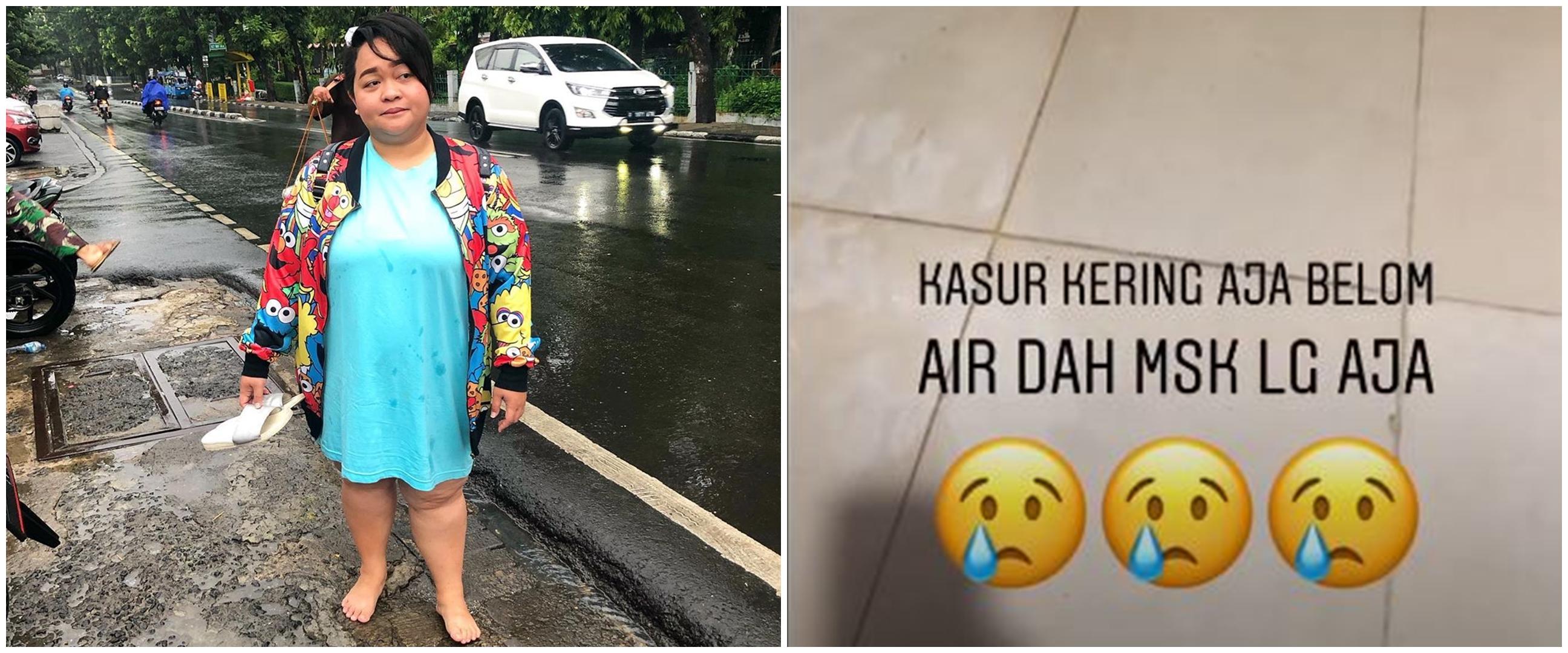 Banjir kedua kalinya, ini 6 potret kondisi rumah Sinyorita