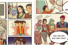 Jokowi unggah 10 ilustrasi, jangan nilai orang dari penampilan
