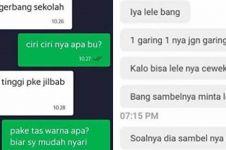 10 Chat lucu arahan penumpang ke driver ojek online, bikin gagal paham