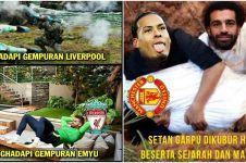 10 Meme lucu usai Liverpool hajar Manchester United, bikin ngakak