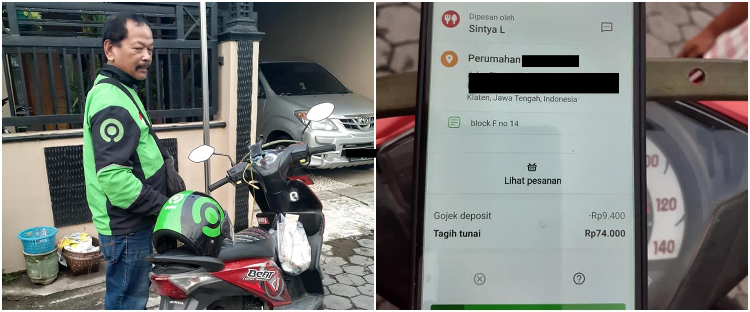 Kisah driver ojek online tempuh 16 Km, padahal orderan fiktif