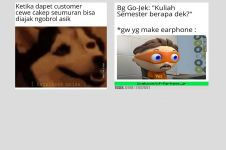 10 Meme lucu ojek online antar penumpang ini bikin geli