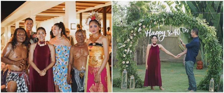 10 Pesta ultah Happy Salma ke-40, ada kejutan pentas tari Kecak