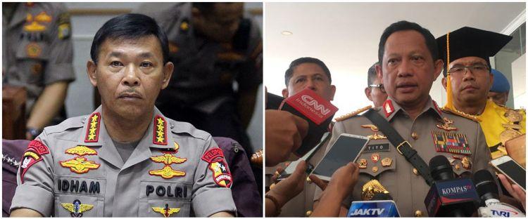 Foto jadul Jenderal Idham Azis & Tito Karnavian jadi sorotan