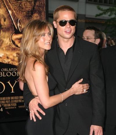 perjalanan cinta Brad Pitt dan Jennifer Aniston Instagram
