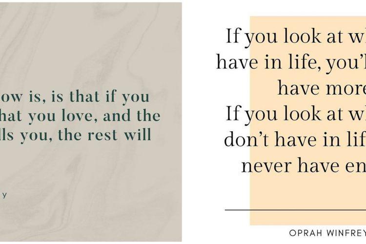 kata kata quote oprah winfrey tentang kehidupan