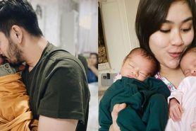 Jadi orangtua baru, ini 8 potret Syahnaz & Jeje momong anak