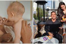 10 Potret liburan manis Raisa dan Hamish Daud bareng Baby Zalina
