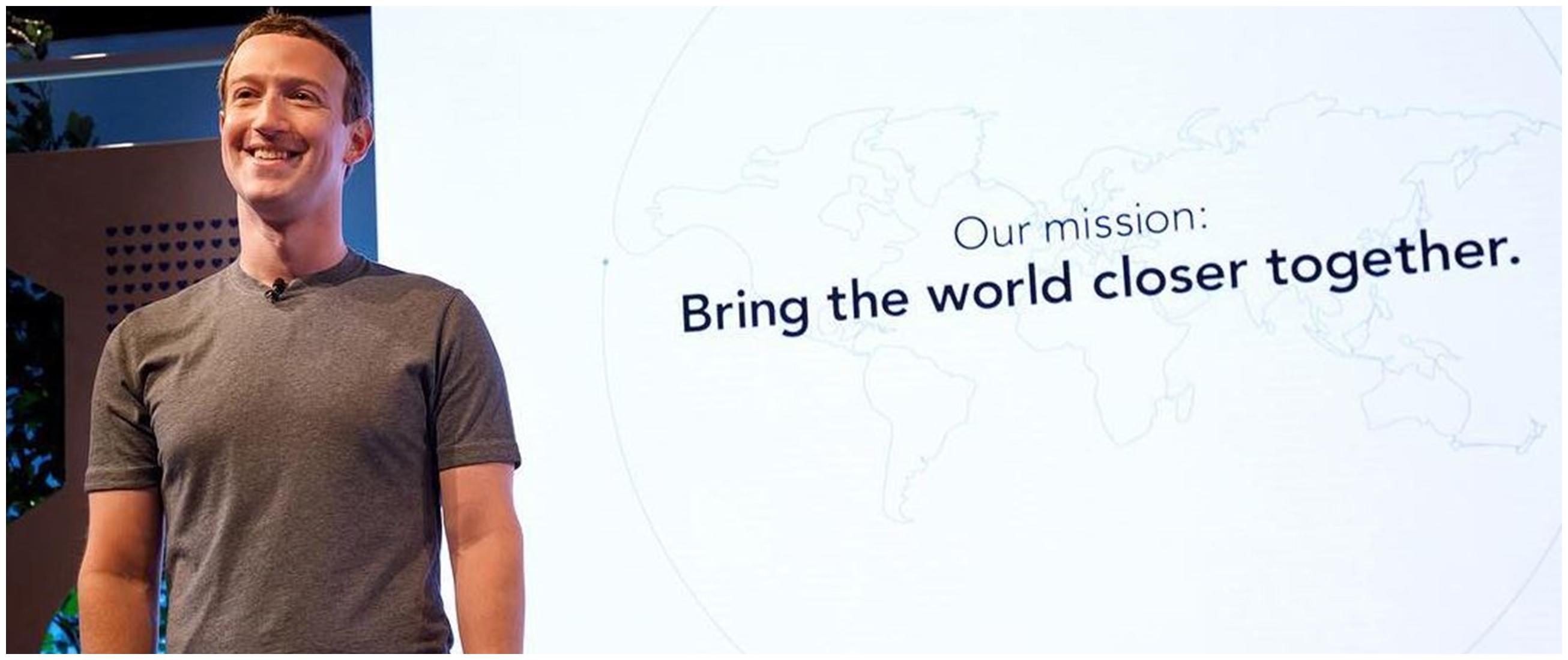 40 Kata-kata quote bijak motivasi Mark Zuckerberg, bikin semangat