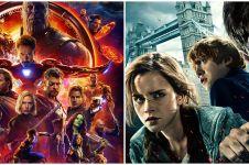 8 Film franchise terbaik sepanjang masa, Marvel hingga Harry Potter