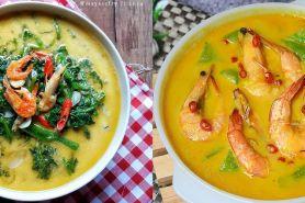 15 Resep sayur santan, enak, sederhana, dan praktis