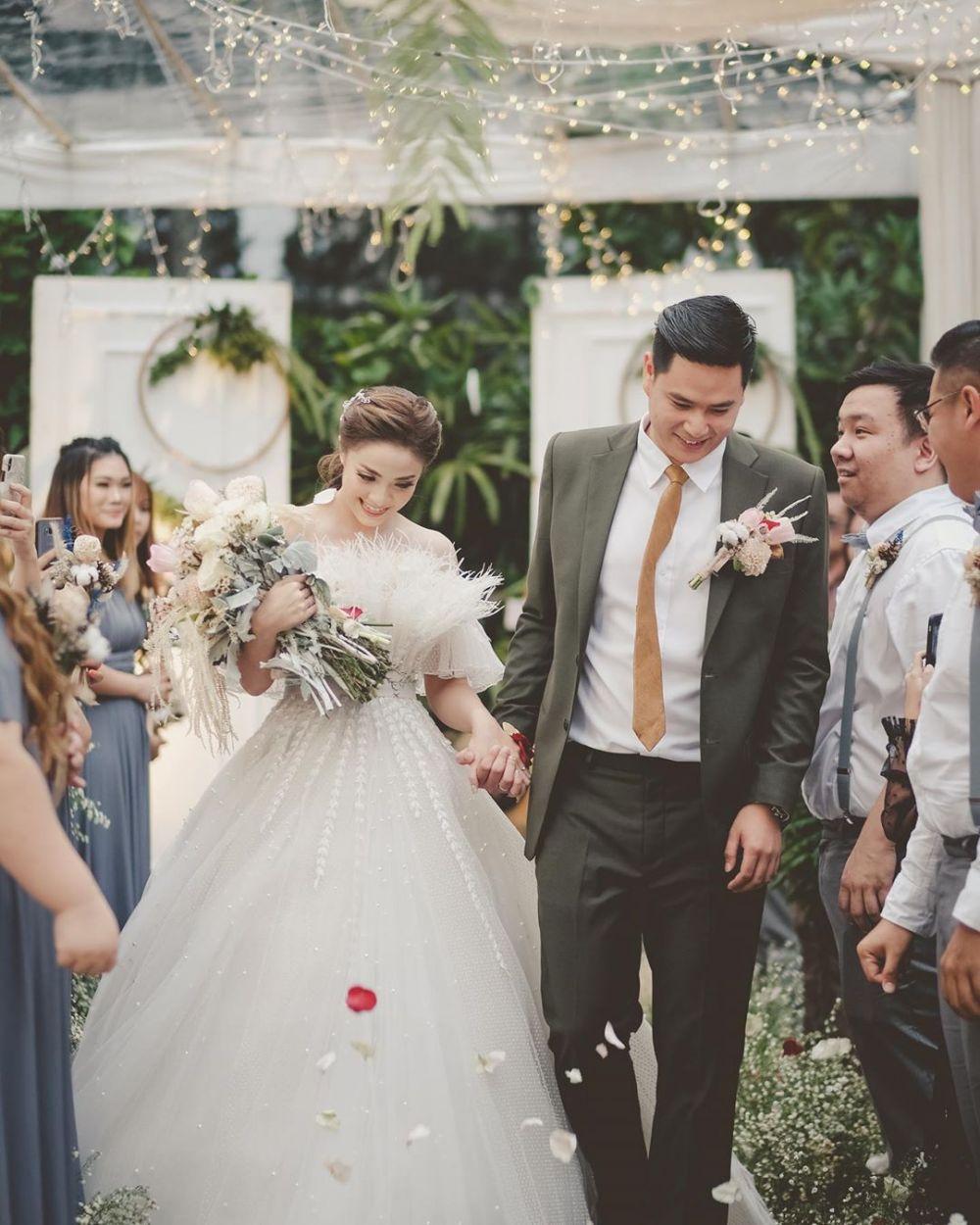 VJ Laissti menikah  Instagram
