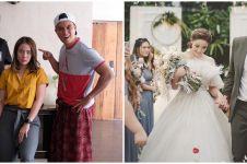 10 Momen nikah VJ Laissti mantan Baim Wong, parasnya manglingi