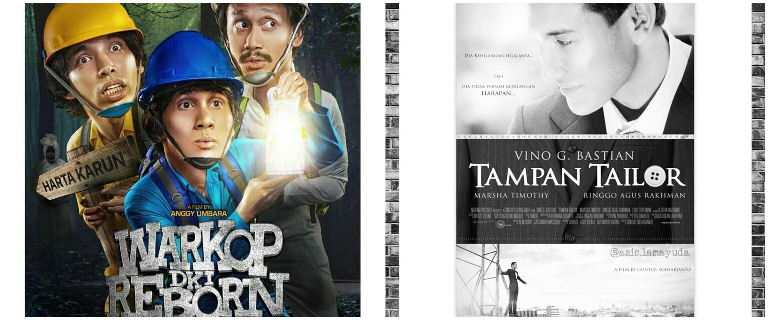 10 Film Indonesia terbaik dibintangi Vino G Bastian