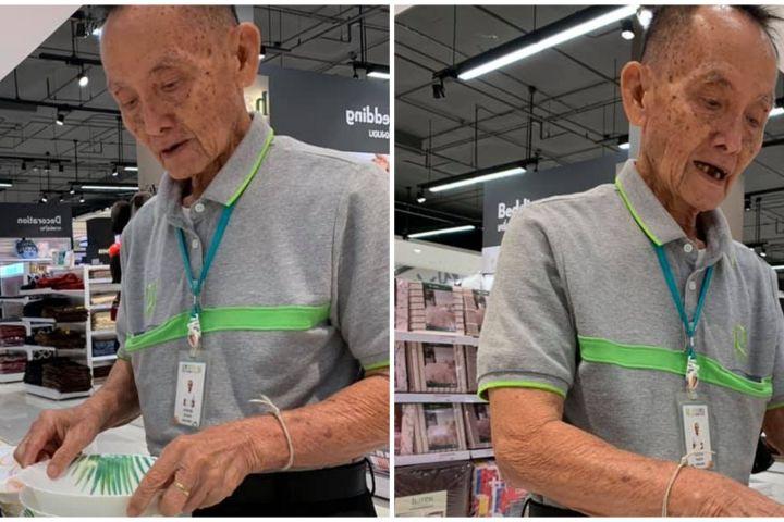 Dulunya CEO, ini kisah haru pria 81 tahun yang kini jadi sales