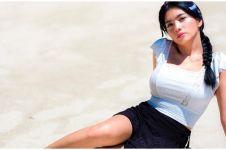 8 Potret liburan Angel Karamoy di Labuan Bajo, bikin gagal fokus