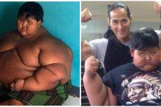 Berat badan turun 110 kg, ini 7 potret terbaru Aria Permana
