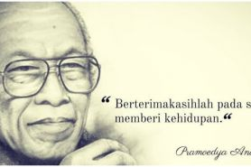 40 Kata-kata quote Pramoedya Ananta Toer, menginspirasi