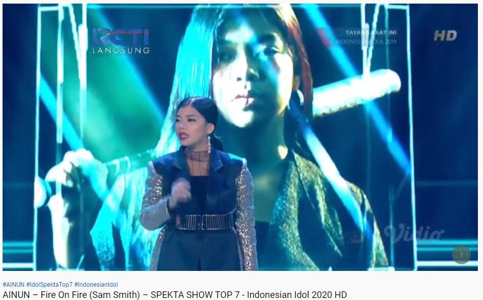 momen trending Indonesian idol 2020 YouTube