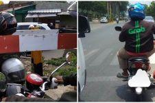 10 Momen ojek online berhenti di jalan, bikin tepuk jidat