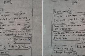 Umumkan tugas dari chat WA guru, cara siswa ini kocak abis