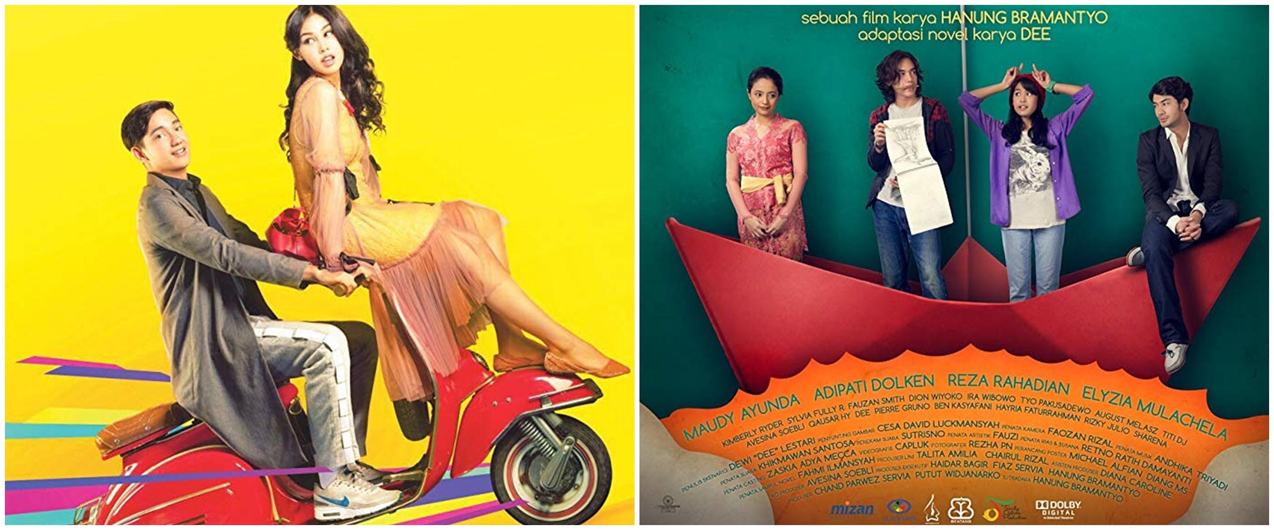 8 Film Indonesia terbaik dibintangi Adipati Dolken, terbaru TTM 2
