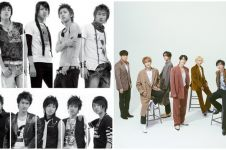 Transformasi 9 member idol K-Pop Super Junior, tak menua