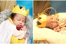 8 Potret newborn Kiano anak Baim Wong, jadi raja cilik