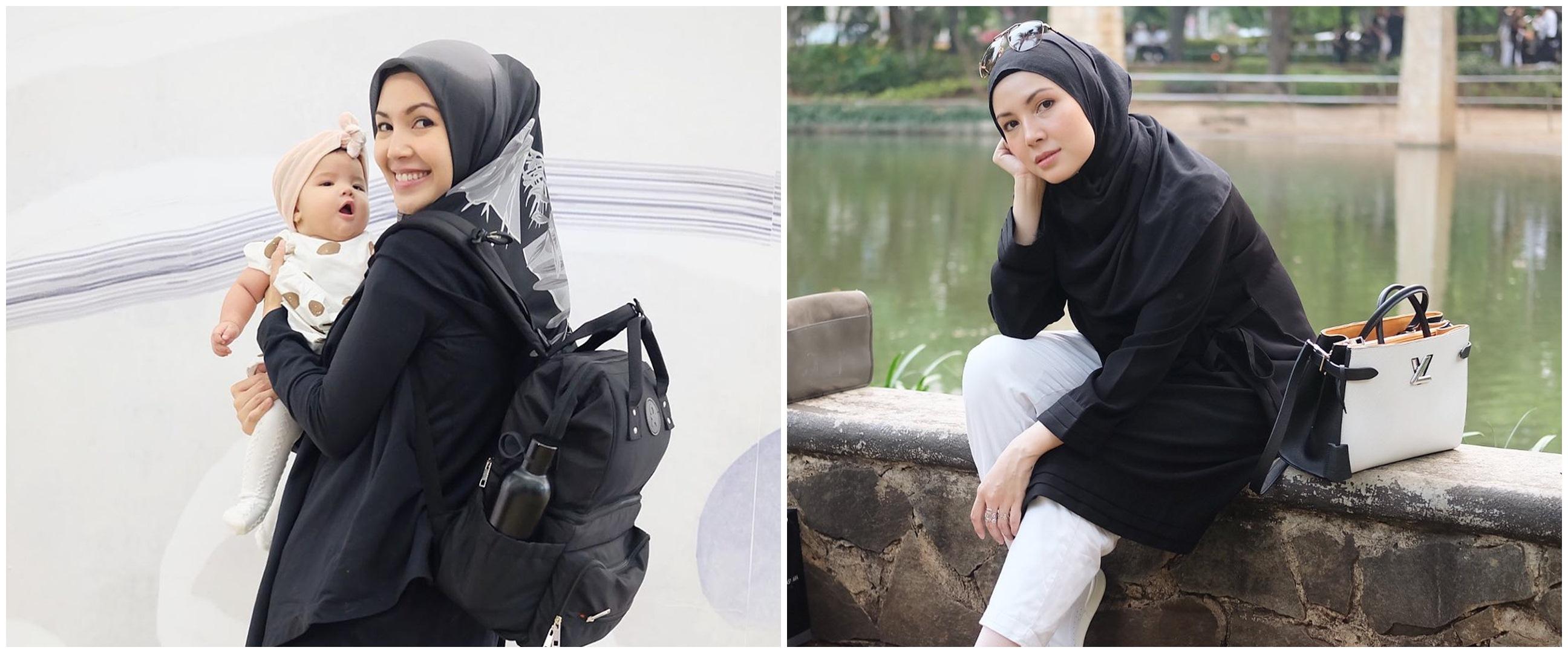 Unggah foto masa kecil, wajah Ratna Galih mirip sang putri