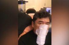 China darurat virus Corona, pria ini pakai pembalut jadi masker