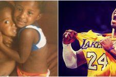 10 Potret lawas Kobe Bryant, aksinya di lapangan bikin nostalgia